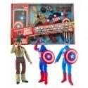 Marvel: Captain America 8 Inch Retro AF Set