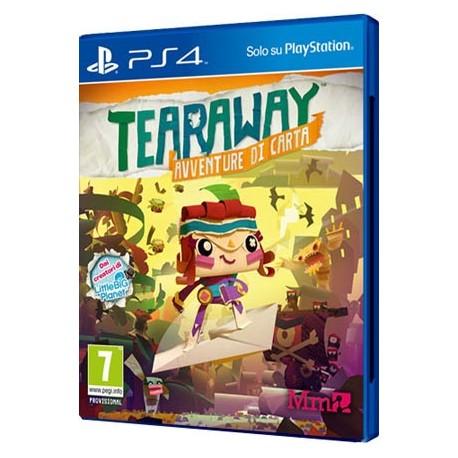 Tearaway Unfolded - Tearaway: Avventure di Carta (PS4)