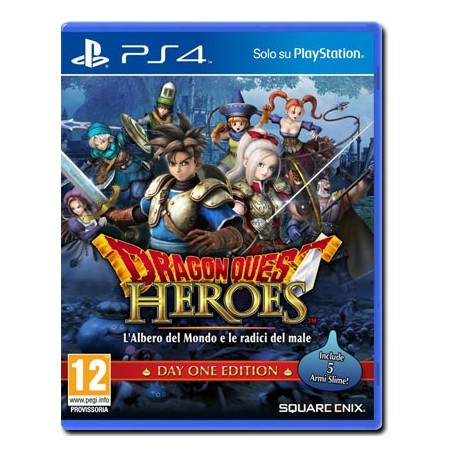 Dragon Quest Heroes - DayOne Edition (PS4)