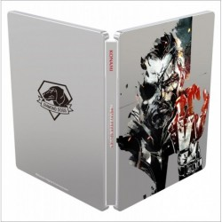 Metal Gear Solid V: The Phantom Pain steelbook case features Shinkawa artwork