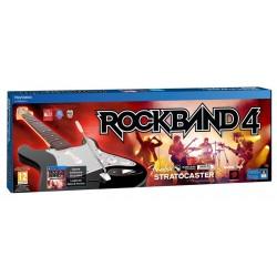Rock Band 4 + Chitarra Fender Wireless (PS4)