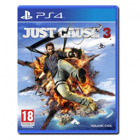 "Just Cause 3 - DayOne Edition + DLC ""Weaponised Vehicle Pack"" (PS4)"