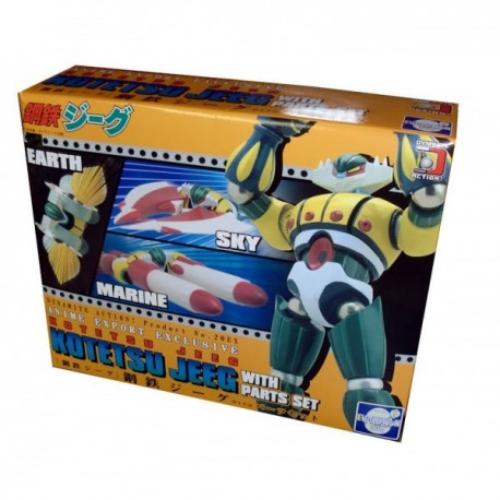 Evolution Toy Dynamite Action No.20ex (21ex) : Kotetsu Jeeg + parti aggiuntive (Parts set)