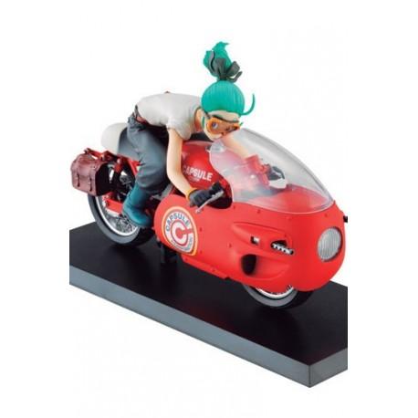 Dragonball Z 03 Desktop Real McCoy Vol. 1 PVC Diorama Bulma Red Ver. 17 cm Statue Dragon Ball
