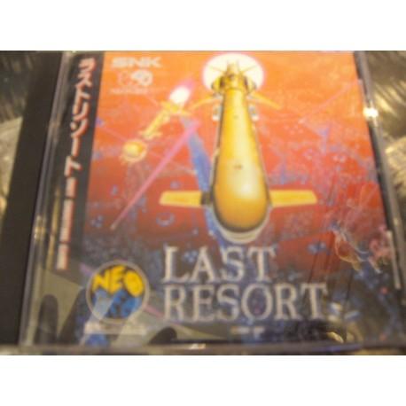 Neo Geo CD Last Resort - USATO -