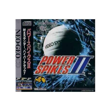 Neo Geo CD Power Spikes II - USATO -
