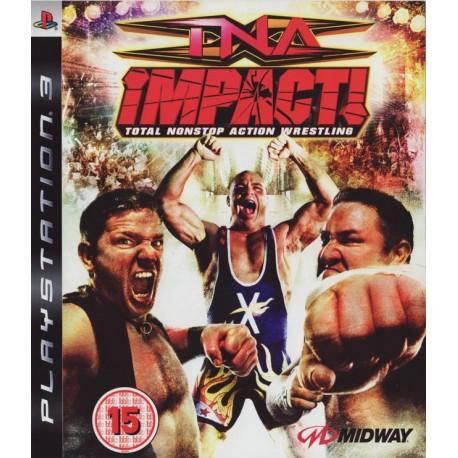 TNA IMPACT PS3 USATO