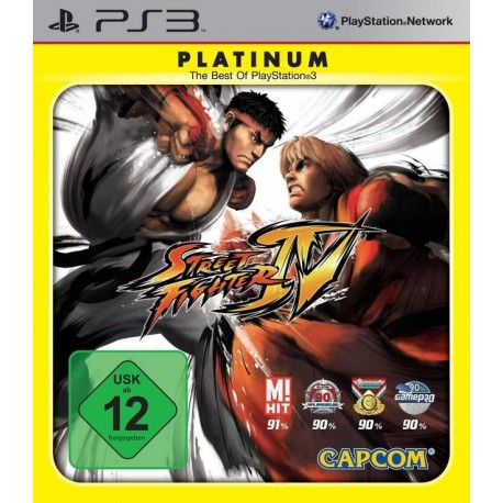 STREET FIGHTER IV PS3 USATO