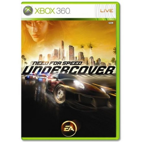 Need for Speed: Undercover XBOX 360 USATO