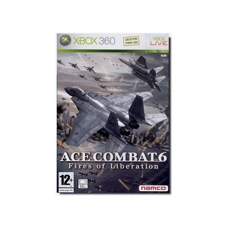 Ace combat 6 Fires Of Liberation XBOX 360 USATO