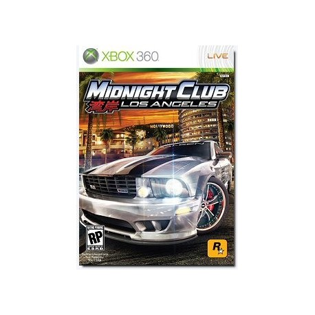 Midnight Club: Los Angeles XBOX 360 USATO