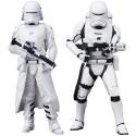 Star Wars Episode VII ARTFX+Statue 2-Pack First Order Snowtrooper & Flametrooper 18 cm