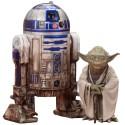 Star Wars Episode V ARTFX+ Statue 2-Pack Yoda & R2-D2 Dagobah Version 10 cm
