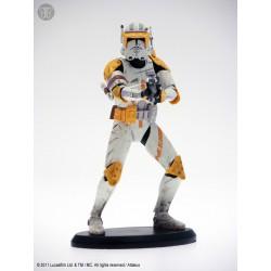 Star Wars Elite Collection Statue 1/10 Commander Cody 19 cm