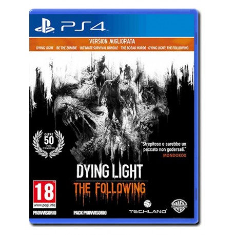 Dying Light Enhanced Edition (PS4)