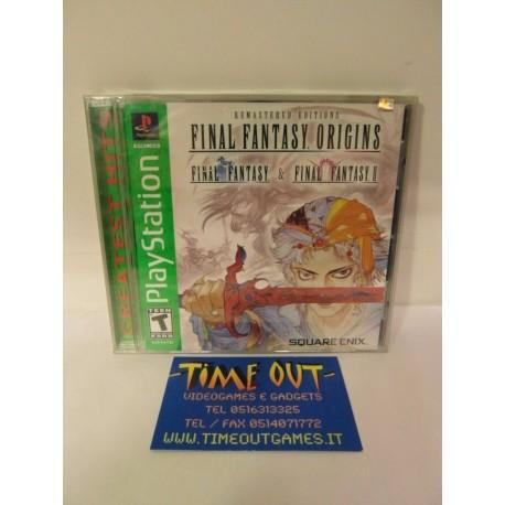 FINAL FANTASY ORIGINS REMASTERED EDITIONS SONY PS1 PSX NTSC USA NUOVO SIGILLATO
