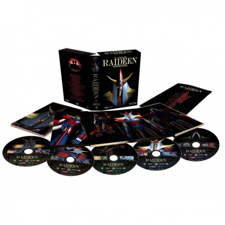 SERIE COMPLETA DE IL PRODE RAIDEEN IN 2 BOX + CD AUDIO