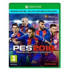 Pro Evolution Soccer 2018 PES - Premium Edition (Xbox One)