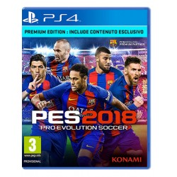 Pro Evolution Soccer 2018 PES - Premium Edition (PS4)