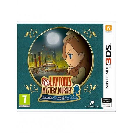 Layton's Mystery Journey: Katrielle e il complotto dei milionari 3DS)