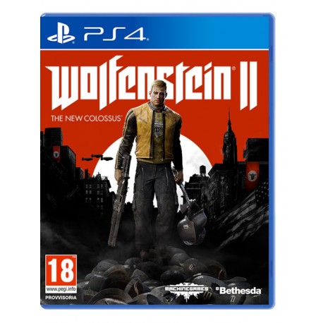 Wolfenstein 2 II: The New Colossus (PS4)