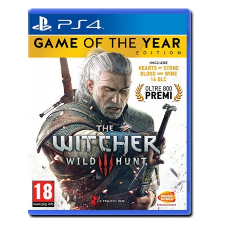 The Witcher 3: Wild Hunt - GOTY Game of the Year Edition (PS4)