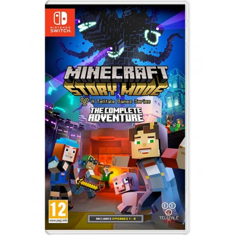 Minecraft Story Mode The Complete Adventure (Switch)