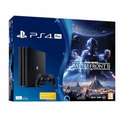 SONY PS4 1TB Pro + Star Wars Battlefront II