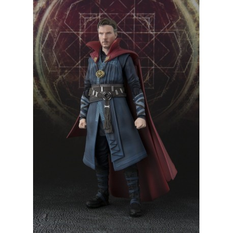 Bandai 15179 54169 - Doctor Strange Movie - SH Figuarts - Doctor Strange Burning Flame Set
