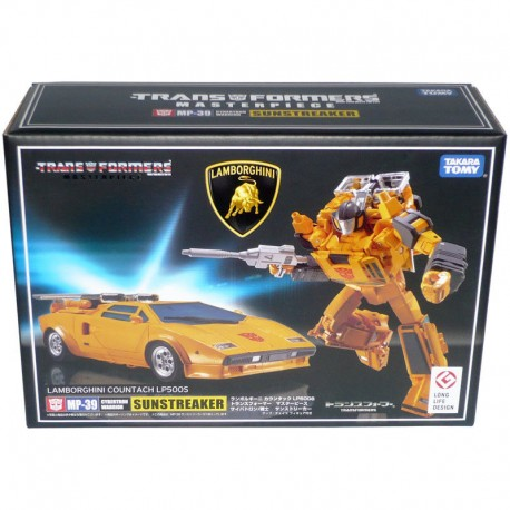 Takara Transformers MP-39 Masterpiece Lamborghini Countach LP500S Sunstreaker