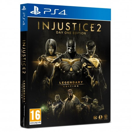INJUSTICE 2 - LEGENDARY EDITION Day One Limited Steelbook Edition (PS4)