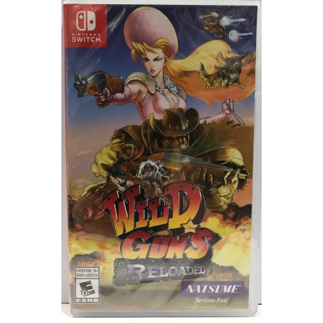 Wild Guns Reloaded (Switch)