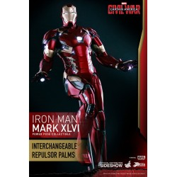 Marvel Civil War: Iron Man Mark XLVI 1:6 Scale Figure