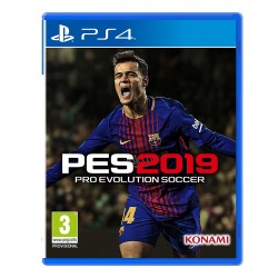 PES - Pro Evolution Soccer 2019 - PlayStation 4 (PS4)