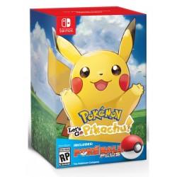 Pokémon: Let's Go, Pikachu! + Poké Ball Plus (Switch)