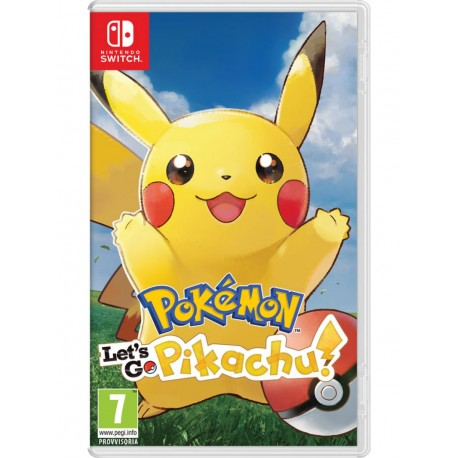 Pokémon: Let's Go, Pikachu! + Poké Ball Plus (Switch)