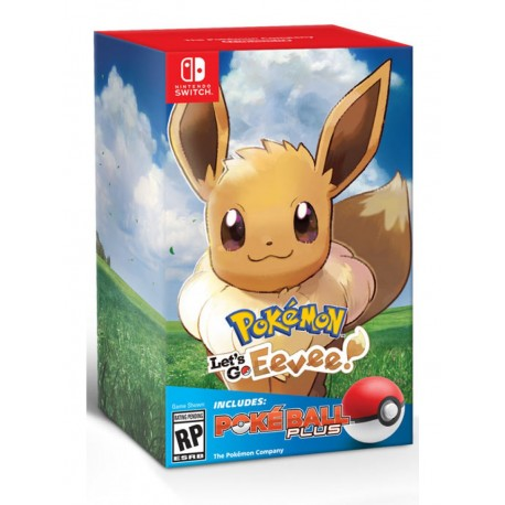 Pokémon: Let's Go, Eevee! + Poké Ball Plus (Switch)
