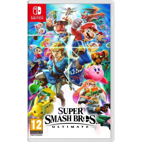 Super Smash Bros Ultimate - Standard - Nintendo Switch