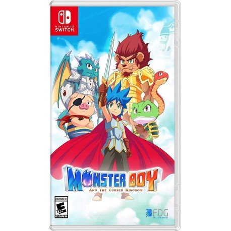 Monster Boy and the Cursed Kingdom (Nintendo Switch)