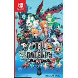 World of Final Fantasy Maxima - Switch