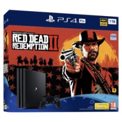 PLAYSTATION 4 PRO GAMMA + RED DEAD REDEMPTION 2 PS4