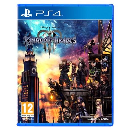 Kingdom Hearts III 3 (PS4)
