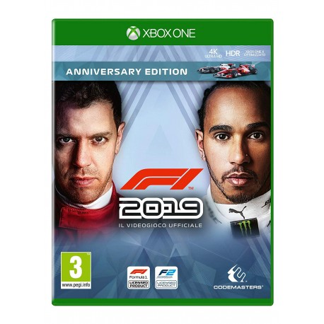 F1 2019 Anniversary Ed. - Day-One - PlayStation 4