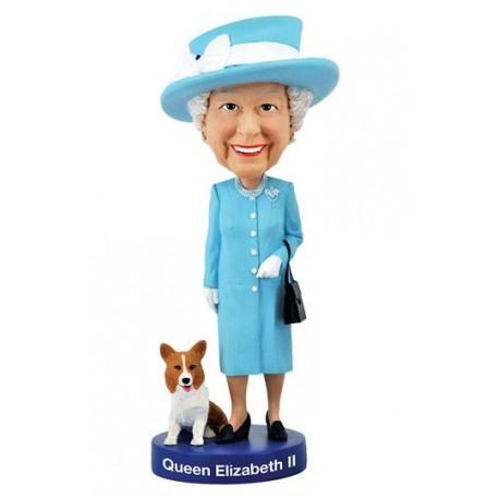 Queen Elizabeth II Bobble-Head 20 cm