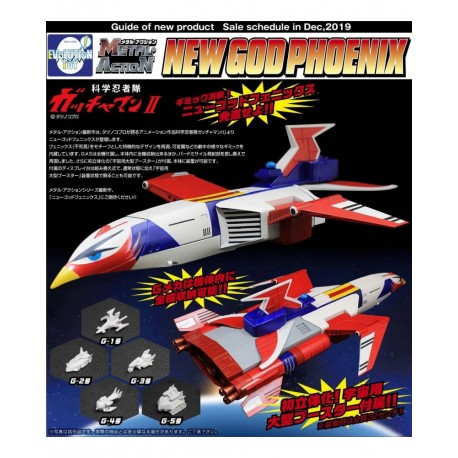 EVOLUTION TOY METAL ACTION GATCHAMAN NEW GOD PHOENIX