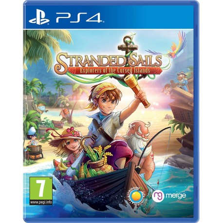 Stranded Sails: Explorers Of The Cursed Islands - PlayStation 4