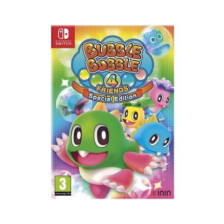 BUBBLE BOBBLE 4 FRIENDS SPECIAL EDITION - NINTENDO SWITCH