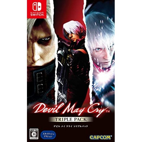 Devil May Cry Triple Pack - Nintendo Switch
