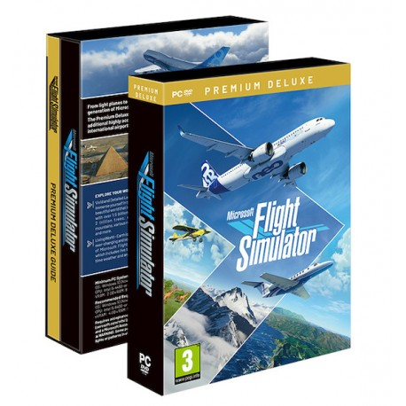Microsoft Flight Simulator 2020: Premium Deluxe - PC