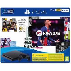 PlayStation 4 Slim 500GB+FIFA21+FUT 21 Promo code